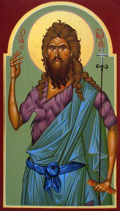 Church Icon, John The Baptist, Orthodox Icons, Disney Characters, Fictional Characters, Saints, Princess Zelda, Saint John, Santos