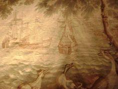 antiquaire-marine-peintres de marine: tapisserie de Beauvais