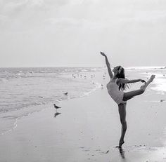 Male photoshoot inspiration ballet ballerina dance beach ocean