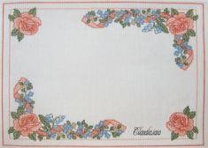 Bavaglino Orsetto con camicia e cuori azzurri_2 - della categoria Punto Croce dall'album di Claudia.iaia.