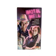 Motel Hell VHS