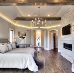 dream house rooms Make sure to enter my giveaway check out my last post! Now how stunning i Master Bedroom Design, Home Bedroom, Bedroom Decor, Bedroom Ideas, Bedroom Lighting, Glam Bedroom, Luxury Master Bedroom, Master Suite Layout, Master Suite Bedroom