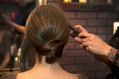 Wedding Hairstyle How-To: The Crisscross Bun (It Works on Shorter Hair, Too!)
