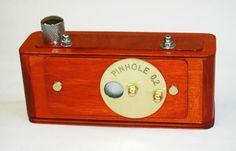 Vermeer wooden pinhole 35mm panoramic camera