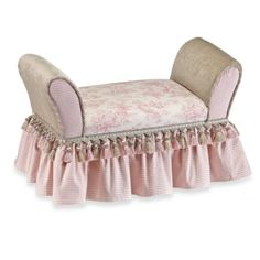 Glenna Jean Isabella Upholstered Child's Bench - buybuyBaby.com