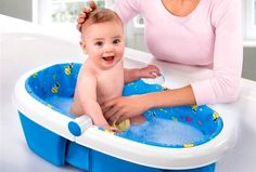 New Born Baby Bathing Tips :  1. Parents must realise that newborn babies don't need to be bathed daily. Washing newborns twice a week is more than sufficient.