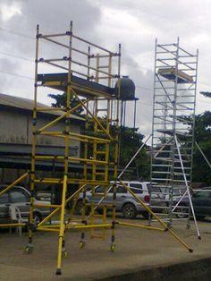 Aluminium Mobile Scaffolding Tower Aluminium Mobile