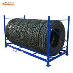 Tire Storage Rack, Steel Storage Rack, Tire Rack, Steel Structure, Diy Projects, Display, Metal, Color, Steel Frame