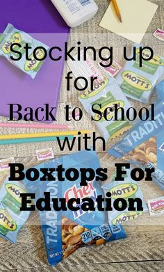 AD: Stocking up for Back to School with Boxtops For Education at @SamsClub @BTFE #BoxTopsatSamsClub
