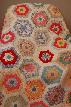 Grandmother's flower garden....by Mel Sews' great grandmother.