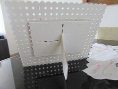 porta retrato pérolas branca