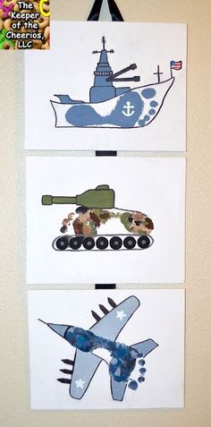 Army, Navy and Air Force Footprint Craft