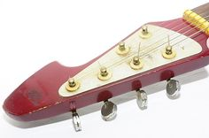 Excellent TEISCO TG-64 Electric Guitar RefNo 561   Reverb