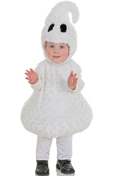 Friendly Ghost Toddler Costume