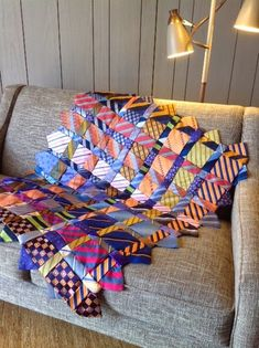 Renay's Tie Quilt is now a pattern