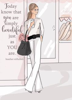 The Heather Stillufsen Collection from Rose Hill Designs Rose Hill Designs, Notting Hill Quotes, Positive Quotes For Women, Positive Thoughts, Braut Make-up, Belle Photo, Woman Quotes, Lady Quotes, Queen Quotes
