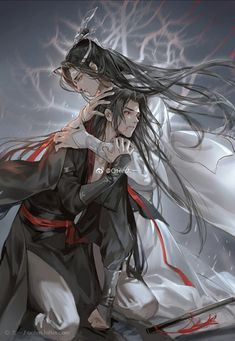 GDC/Mo Dao Zu Shi, one of the best Chinese Xuanhuan novel. ❤ ❤❤ ❤❤ ❤ Free to read the best Xuanhuan&Fantasy novels like GDC on Fanarts Anime, Manga Anime, Cute Love, Chinese Art, Asian Art, Anime Guys, Character Art, Chibi, Fantasy Art