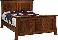 Amish Grant Panel Bed from DutchCrafters Amish Furniture Amish Furniture, Bedroom Furniture, Furniture Design, Queen Bed Plans, Full Bed Dimensions, Quarter Sawn White Oak, White Oak Wood, Wood Sample, Panel Bed