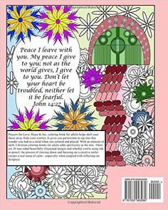 Amazon.com: Prayers for Love, Peace, & Joy: Christian Coloring Book for Adults (9781530943289): Angela Whiting: Books