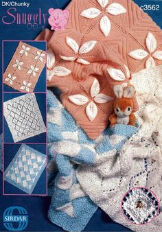 ideas knitting baby blankets vintage for 2019 Leaf Knitting Pattern, Knitting Patterns, Crochet Patterns, Vintage Knitting, Vintage Crochet, Baby Knitting, Baby Patterns, Vintage Patterns, Leaf Patterns