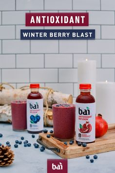 Feel refreshed with this delicious Antioxidant Berry Blast smoothie recipe. Bai is the perfect ingredient for any smoothie recipe with only 5 calories and 1 gram of sugar. Top Plans for Preparing For Lower Body Workouts Smoothie Drinks, Healthy Smoothies, Healthy Drinks, Healthy Snacks, Healthy Eating, Fruit Snacks, Berry Blast Smoothie Recipe, Smoothie Recipes, Diet Recipes