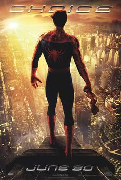 Why choice matters and why Spider-Man 2 is so much better than the Amazing Spider-Man 2.