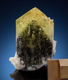 Minerals:Small Cabinet, LIDDICOATITE with PHANTOM. Anjanabonoina, AmbohimanambolaCommune, Betafo District, Vakinankaratra Region, AntananarivoPr... Image #2