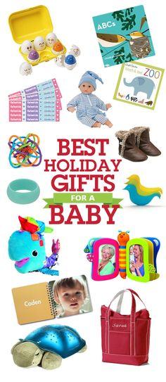 Wicked list of gift ideas for a baby.