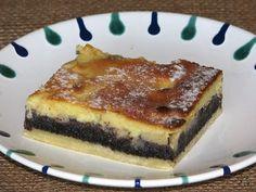 Apfel-Mohn-Kuchen - Apple poppy seed Cake - find German recipes in English @ www.mybestgermanrecipes.com