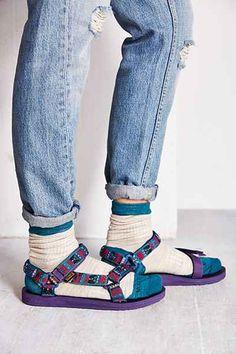 Teva X Woolrich Original Universal #SocksAndSandals