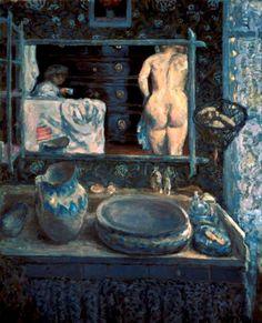 Pierre Bonnard. Le miroir 1908