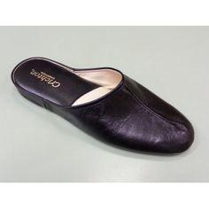 fa0e825196c30d Relax Gavin Black Leather Mens Slipper Leather Slippers For Men