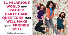 Whether you are having a small sleepover with your besties or having a huge party with your squad, playing the game Would You Rather is a great way to get your friends talking! I like to play this …