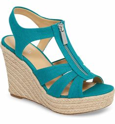 4a59b1926bc Main Image - MICHAEL Michael Kors Berkley Platform Wedge (Women) Women s  Shoes Sandals