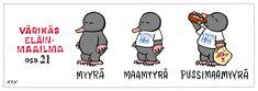 Eläinlajit 21 Finnish Language, Finland, Teacher, Science, Cartoon, Comics, Funny, Quotes, Kids
