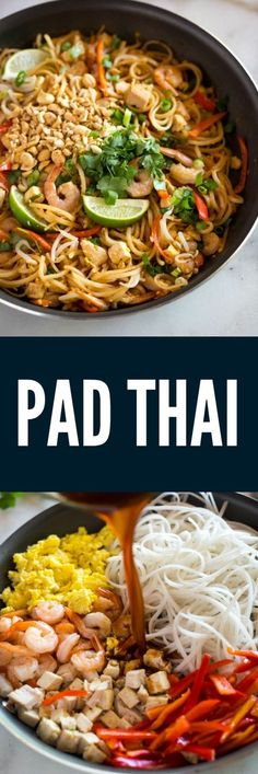 You can make amazing restaurant-quality Pad Thai from home, in under 30 minutes!