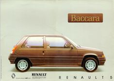 Renault Love! — Renault Love presents the Renault 5 Baccara!