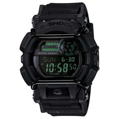 Casio GD400MB-1 Men's G-Shock Digital Black Dial Black Resin Strap World Time Dive Watch