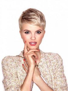 short-shaved-hairstyles                                                                                                                                                     More