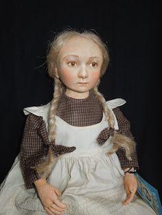 Rebecca Kerin Folk Art Dolls ~ Tess