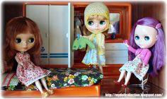 https://flic.kr/p/9H1Cuz | Con ropa nueva / With new clothes... | Ropita de / Clothes by:   elroperodeblythe.blogspot.com/  www.flickr.com/photos/49267049@N04
