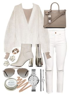 """""""Untitled #19352"""" by florencia95 ❤ liked on Polyvore featuring H&M, TIBI, Topshop, Yves Saint Laurent, FOSSIL, CB2, Tom Ford, Shaun Leane and Cartier"""