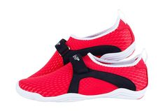 BALLOP Skin Shoe Fitness Plates Indoor Travel Water Play Sport Aqua Yoga Red #BALLLOP #SkinAquaShoes