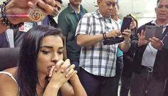 Brasileira presa com mais de 5kg de cocaína nas Filipinas. Autoridades de imigração do Aeroporto Internacional Ninoy Aquino prenderam, no sábado, 15 de...