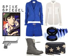 """Spike Spiegel"" by alexandrabjarg on Polyvore"