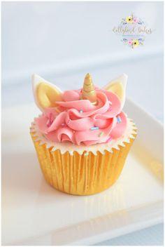 - cake by Dollybird Bakes Unicorn Cupcakes, Birthday Cupcakes, Mini Cupcakes, Bake My Cake, Homemade Birthday, Just Bake, Cake Gallery, Halloween Cupcakes, Celebration Cakes