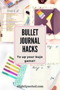 There are some amazing bullet journal hacks here! I've seen a few of them before to be fair, but a lot are new to me, and they're nicely explained with some good pics. Definitely some lovely bullet journal hacks here, which I'll be using in my bullet jour Bullet Journal Tracker, Bullet Journal Hacks, Bullet Journal Printables, Bullet Journal How To Start A, Journal Template, Bullet Journal Spread, Bullet Journal Layout, Bullet Journal Inspiration, Bullet Journals