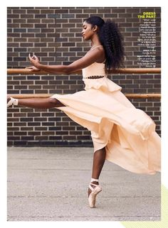 Brown Girls DO Ballet® — Pennsylvania Ballet's Nardia Boodoo ( Dance Photos, Dance Pictures, Black Women Art, Black Art, Ballerinas, Ballet Dancers, Black Girls Rock, Black Girl Magic, My Black Is Beautiful