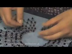 Make a Grand Netted Choker - YouTube