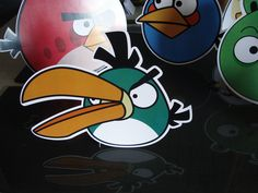 Display de mesa - Angry Birds Angry Birds, Donald Duck, Disney Characters, Fictional Characters, Art, Stationery Shop, Stickers, Mesas, Craft Art
